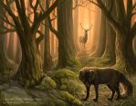 In The Crook Of The Oak by Nambroth