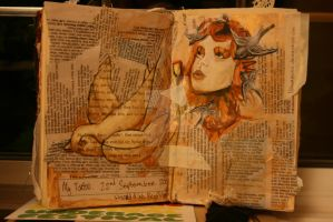 sketch book page- tattoo by i-doll-creative