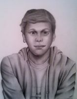 Michael Cera - Scott Pilgrim by PurpleStrawberry4