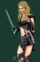Callisto from Xena by Romax25