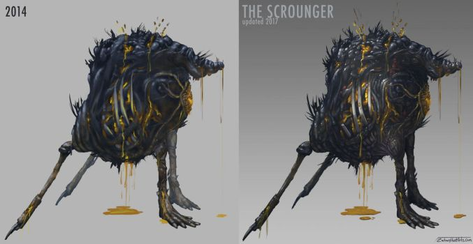 The Scrounger: 2017 update by Zyryphocastria