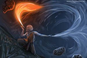 Avatar Aang by ArmadaPaw