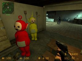 Counter Strike Teletubbies mod by MHalse
