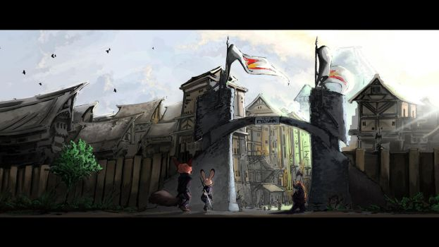 Here Be Dragons: Welcome to Podunk by TheWyvernsWeaver