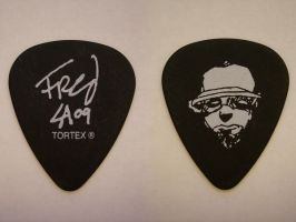 Fred Durst guitar pick by blackmaddog