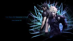 Zack x Cloud Wallpaper by Mufurcka