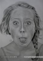 Funny face by BlueAngel271183