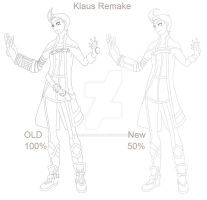 Klaus Remake - 50% by Alex-Goncalves