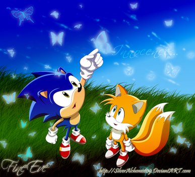 Innocence-Tails and Sonic kids by SilverAlchemist09