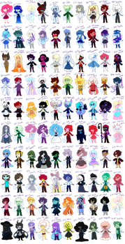 100 Gem Adopts (MOVED) by Astrum-Adopts