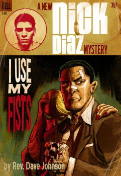 Nick Diaz for Comic Twart by Devilpig