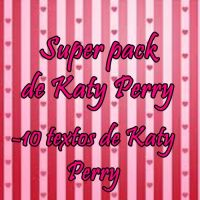 Textos de Katy Perry by Cande1112