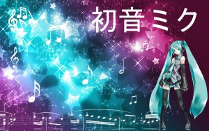 Hatsune Miku Vocaloid Wallpaper by DevanTheNoob