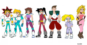 Mighty Duelists by Sner2000
