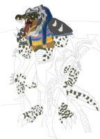 Renekton as egyptian god sobek gir ider work 2 by daylover1313