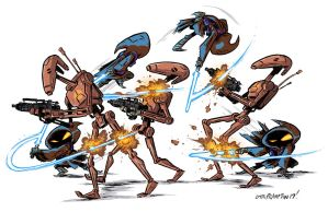 Jedi Jawa In Action by OtisFrampton