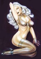 Lady Death Pinup by TheBigGunns