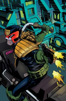 Judge Dredd #6 by Mike McKone by whoisrico