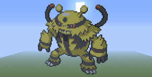 Electivire - Minecraft Pixel Art by EpIcLuKo8D