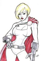DSC- Power Girl 2 by illust888