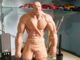 Sagat wip 7 by x-sandro