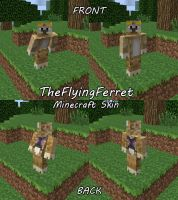 TheFlyingFerret Minecraft Skin by TheFlyinFerret