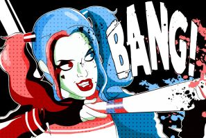 Suicide Squad- Harley Quinn by xeternalflamebryx
