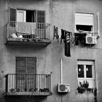 Two Balconies by MarinaCoric