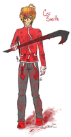 The Boy in Red by nukdae