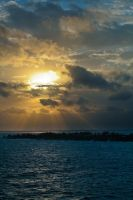 Bahamas sunrise 3 by DostorJ