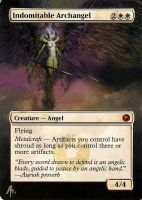 altered indomitable archangel by Azima-el