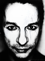 creepy dave gahan by shellyplayswithfire