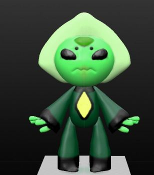 Baby Peridot by Artdirector123