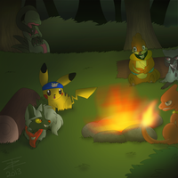 Point Commission :: Tales from the Campfire by TwistedZepher