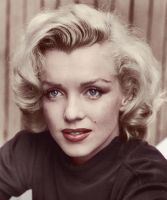 Marilyn Monroe at home by KraljAleksandar