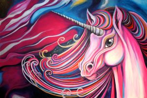 Unicorn in Space by Jenna-Karl