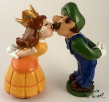 Daisy and Luigi by Hollys-Art