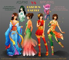 Fashion Battle by nillia