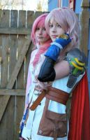Claire and Serah Farron by Caram3llo