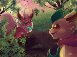 Explorers of dawn by SpaceSmilodon