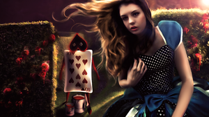 Alice in Wonderland by spooky-buh