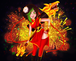 Firecracker Jinx [6] by Gumae