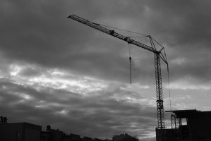 Building Site by endorfinium