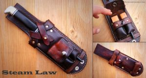 Kydex Core Survival Sheath by rosewolfartisans