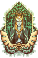 - Midna - by Cloudnixus