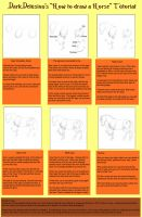 Tutorial - How to draw a horse by DarkDelusion