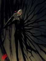 Slenderman Kira! by rusharil
