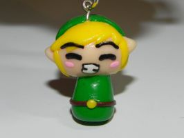 Link keyring by Pandannabelle