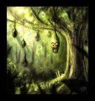 The Hanging Tree - Speed Paint by Kat-Nicholson
