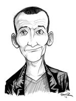 Doctor Who #9 - Christopher Eccleston by thecommonwombat